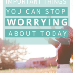 If you waste a lot of time worrying about things you can't control, here are eight important things that can help. The first one is one that all happy people have mastered...