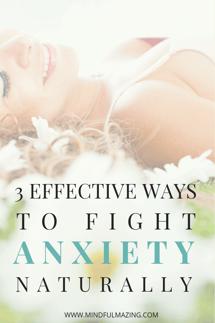 Are you looking for ways to stop anxiety naturally? Without drugs? I'm going to show you 3 powerful ways to stop anxiety in it's tracks — naturally. #anxiety #stopanxiety #