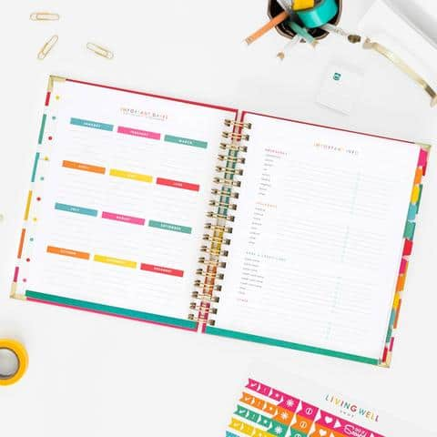 Ruth Soukup's Living Well Planner