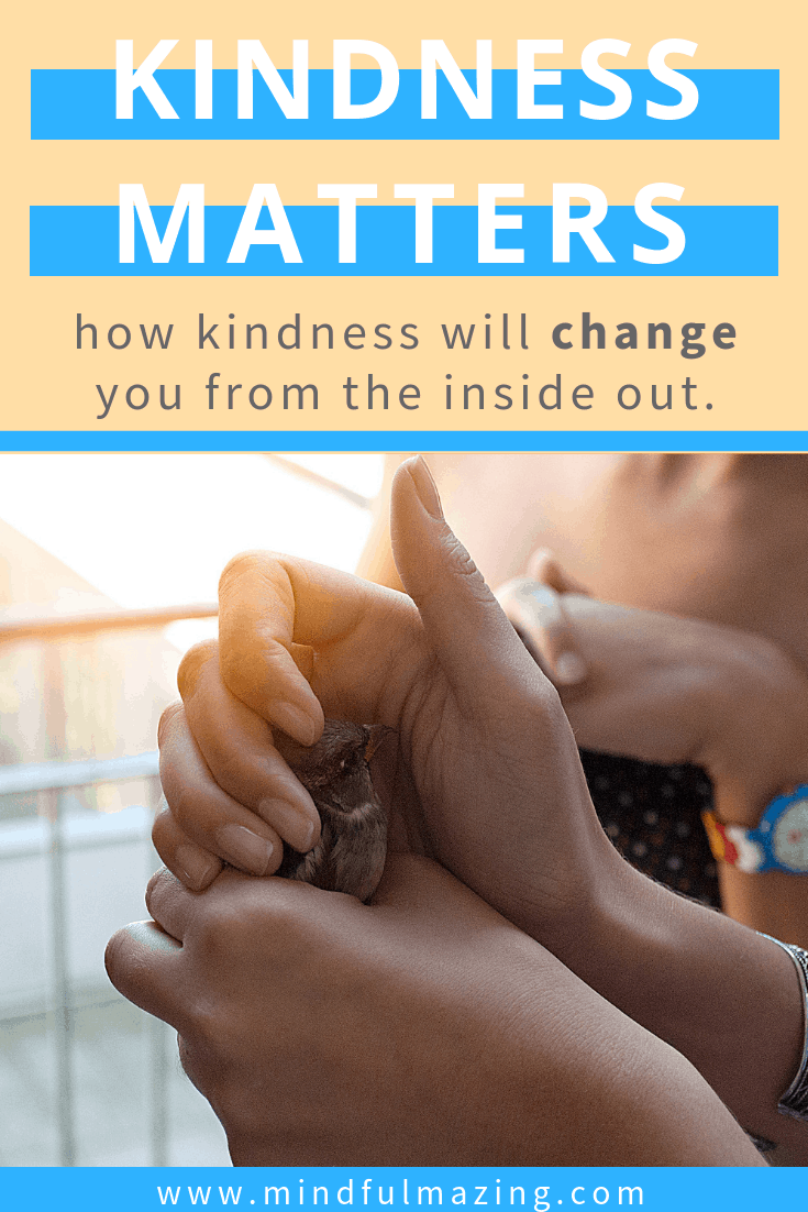 Kindness matters, it matters to you and it matters to me. I believe that everything we say and do makes a difference. Moment-to-moment, we can always choose kindness ... Acts of kindness, kindness lessons, teaching kindness, kindness rocks!