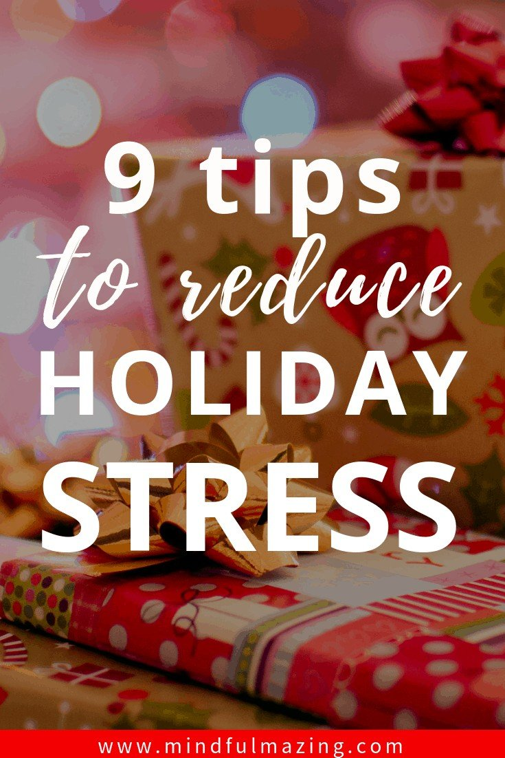 Reduce holiday season stress. The holiday season often brings a dizzying flurry of stress. And it's not surprising. Theholidays bring increased demands parties, shopping, debt, baking, cleaning, travelling - to name just a few. Learn 8 tips to stay sane during the holiday season.