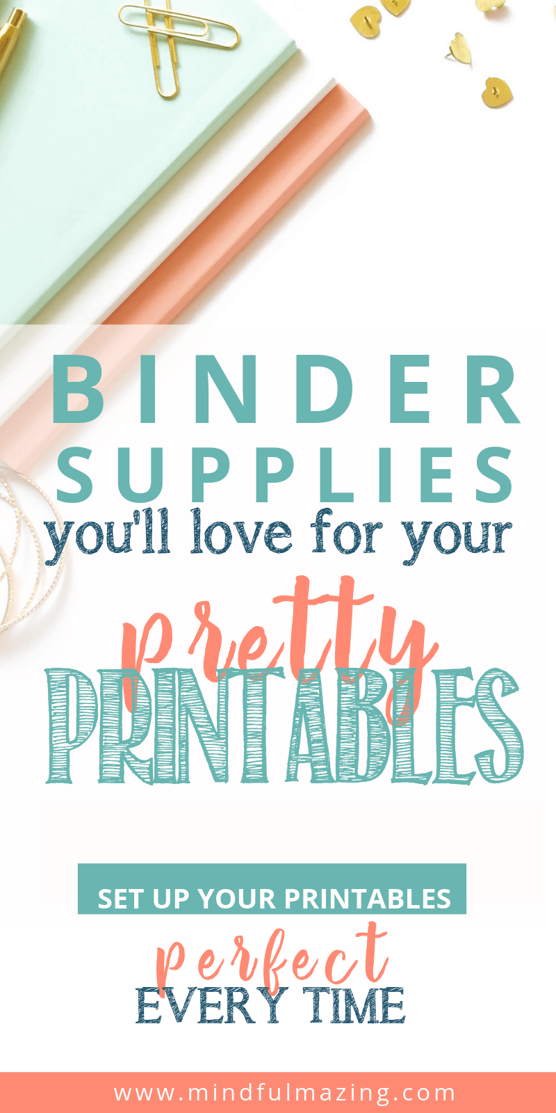 Binder supplies for your beautiful printables. For your free printables, printables for the home, inspirational printables!