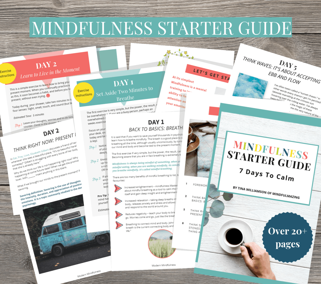 Free Mindfulness Printables
