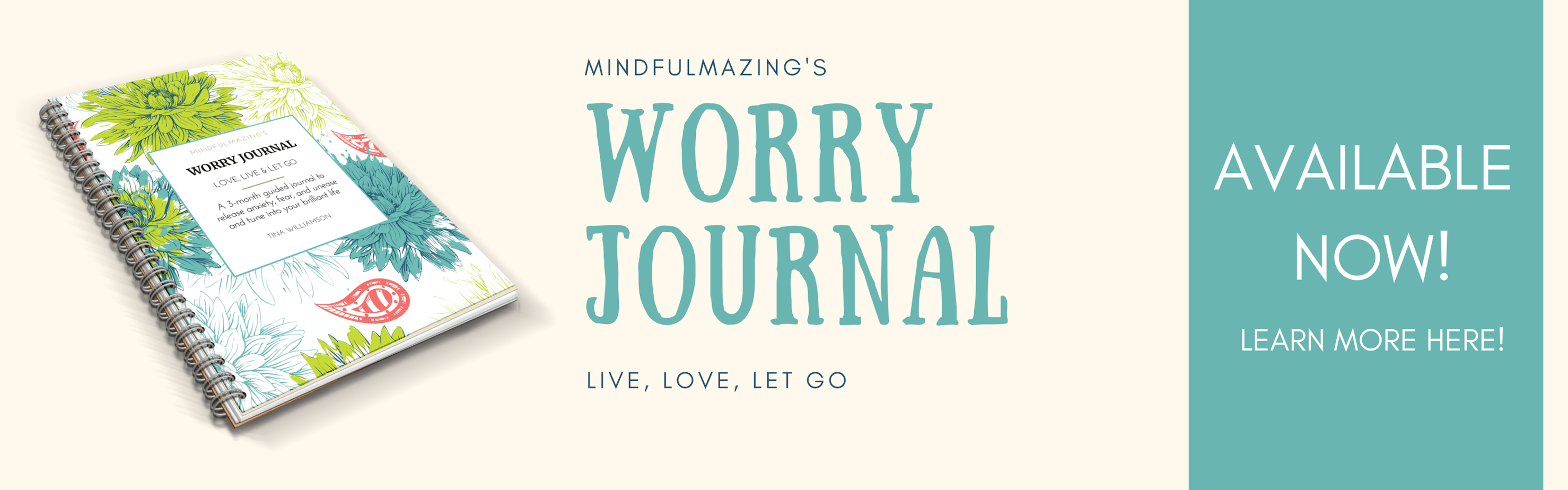 A small pebble of worry often snowballs into a boulder of anxiety, stress and mental health issues. Use this genius worry journal to stop anxious, irrational thoughts and break free of excessive worry. You can train your brain to relax, stay calm and see life from a more balanced, less fearful perspective. Learn how to stop worrying quickly with this one powerful habit. #howtoworryless #anxiety #stopworryingquotes #worry #howtonotworry #worryjournal