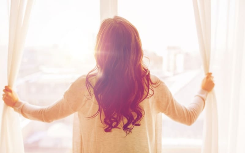 Number 3 of things all moms should know is to be real, open up the curtains a little and let some light in. Stop trying to be perfect. #Motherhood.