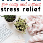 ry these three quick and simple relaxation techniques for moms to reclaim stressful moments. By investing 60-seconds of your time and focus, you can set a tone of peace and calm. #relaxationtechniques #stressrelief
