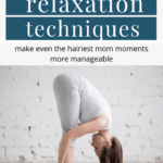 We've listed our top 5 favourite stress solutions for overwhelmed moms. Make even the most stressful mom moments more manageable with these instant relaxation techniques. And here's the best part: Each exercise takes less than 60-seconds each.