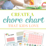 Five simple steps you can take right now to create a chore chart for kids that your kids will LOVE (and it works too). This in-depth post includes 5 FREE charts, plus an insightful graphic of age appropriate chores.