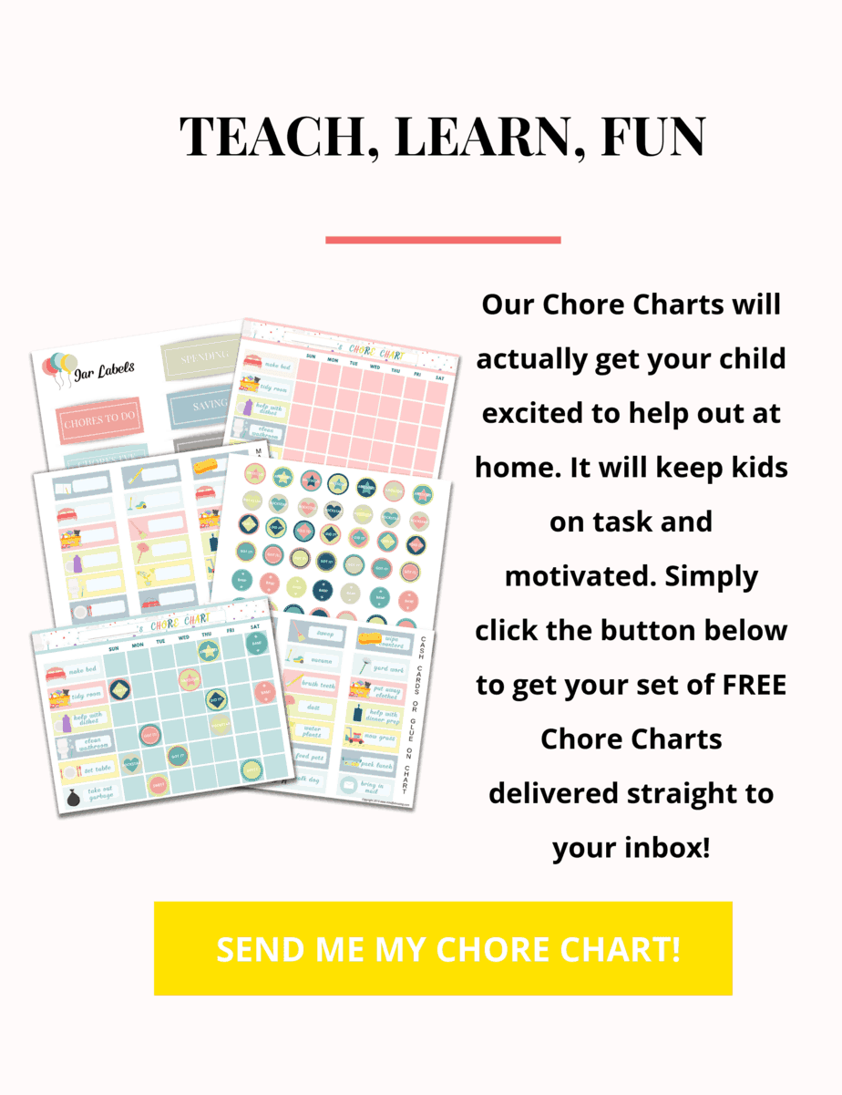 Chore Chart Printables For Kids