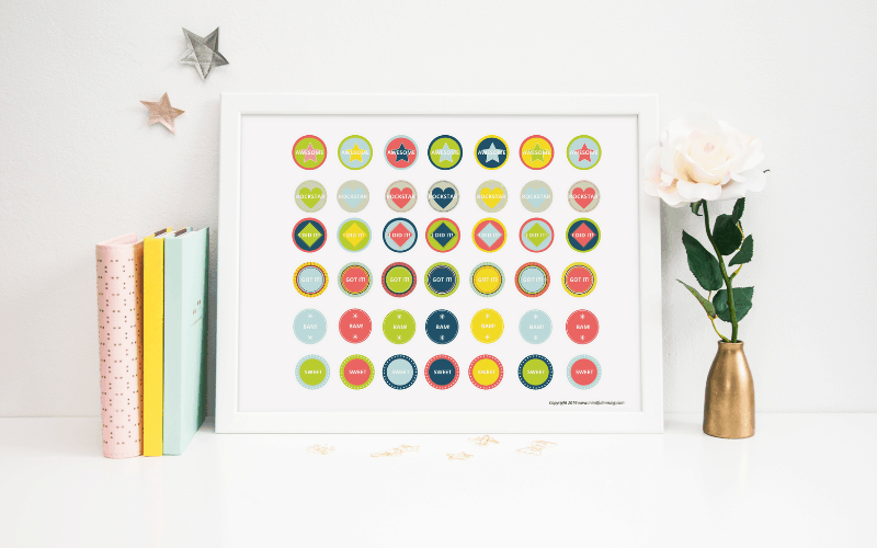 daily chore chart for kids free printable