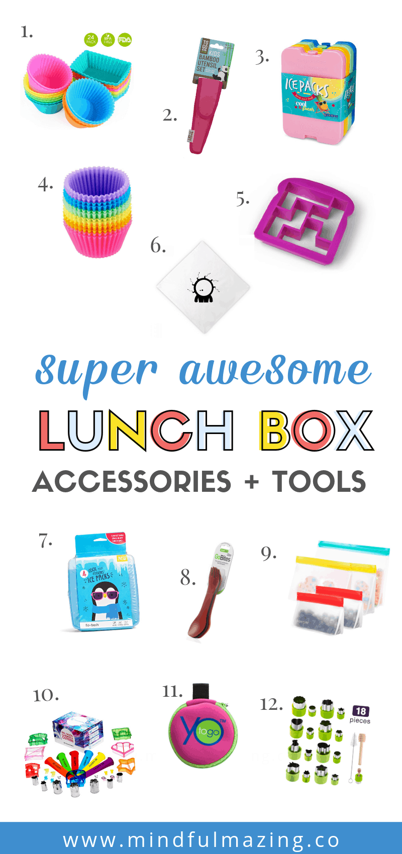 The best lunch boxes for kids, supplies and tools to pack a fun and exciting school lunch that kids will love. You never have to feel confused or worry about what lunch box to buy your kids again. The best of the best when it comes to kids lunch boxes, lunch box supplies and lunch box accessories! The best bento boxes, water bottles, utensils and fun lunch packing tools! Awesome ideas to make lunches super cool.