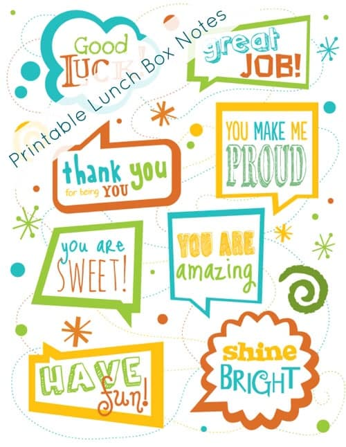 Lunch box notes for kids are a super cool way to remind your kiddo they are loved and that you are thinking about them while they are at school. This epic post includes the best of the best lunch box notes for kids from all over the web. Spice up lunches with these 150+ printable lunch box notes and lunch box jokes for back to school (includes lunch box notes for kindergarteners) guaranteed to make your kids feel loved and special.