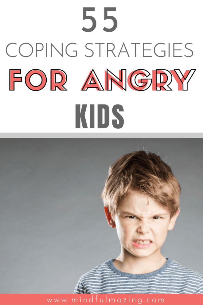 If you're wondering how to help an angry child calm down, this is for you. I'm so glad I found this article to help develop coping strategies for my son. We've learned essential anger management skills and implemented many of these 55 calming strategies for kids. Anger worksheets, self regulation, free anger printables & so much more.