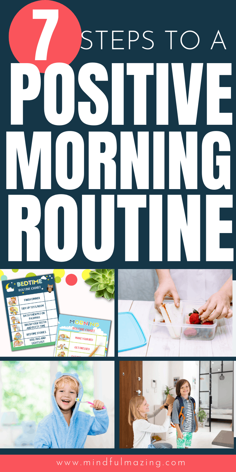 Stress-free morning routine for kids