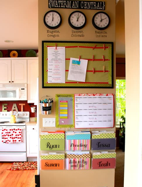 Morning Routine for Kids - Command Center