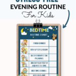 Evening Routine for Kids