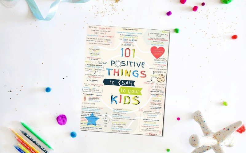 Positive Things to Say to Kids