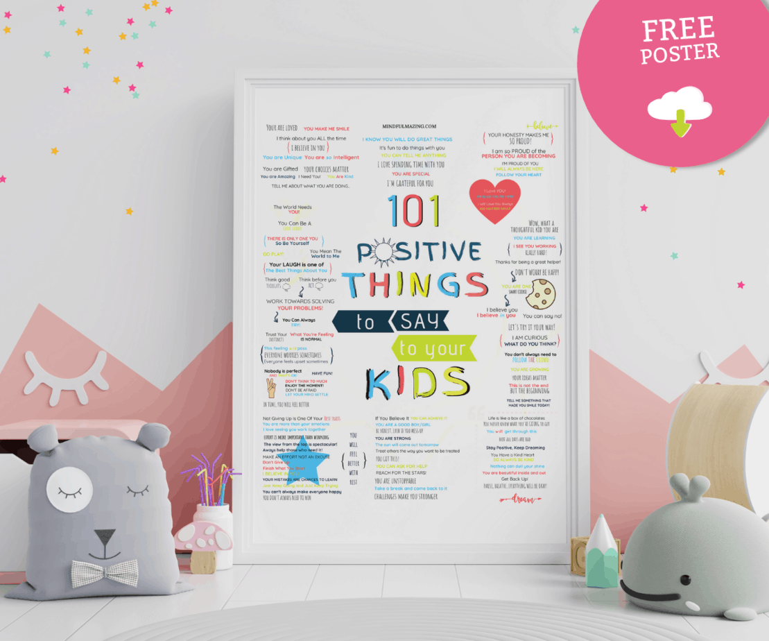 101 Encouraging Words for Kids: Powerful & Positive Things to Say to Kids