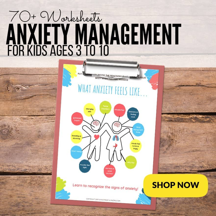 Anxiety Kit for Kids PDF (ages 4-11)