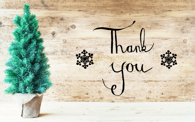 Christmas gratitude