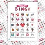 Valentine Bingo Printable For Kids