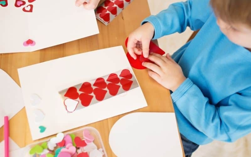 Valentine's Day Activities for Kids, kid's Valentine crafts