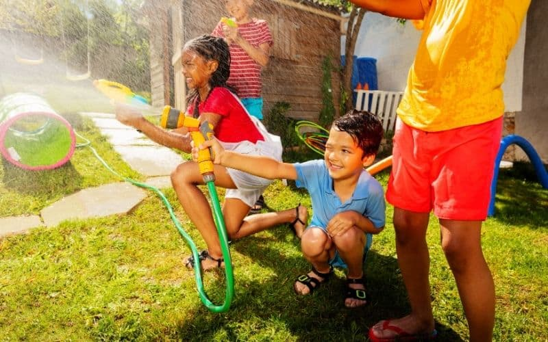 Water games for kids birthday parties