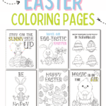 Free Easter coloring pages printables
