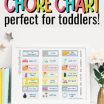 chore chart for toddlers