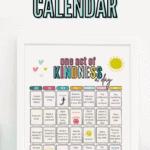 free printable kindness calendar