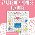 free kindness ideas poster