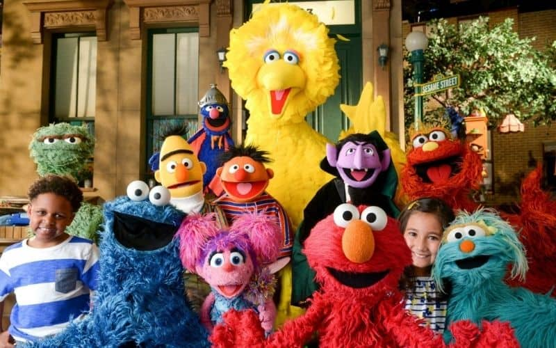 Sesame street education for kids