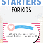 family conversation starters for kids