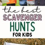 scavenger hunts for kids