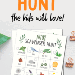 summer scavenger hunt for kids