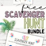 free scavenger hunt printables