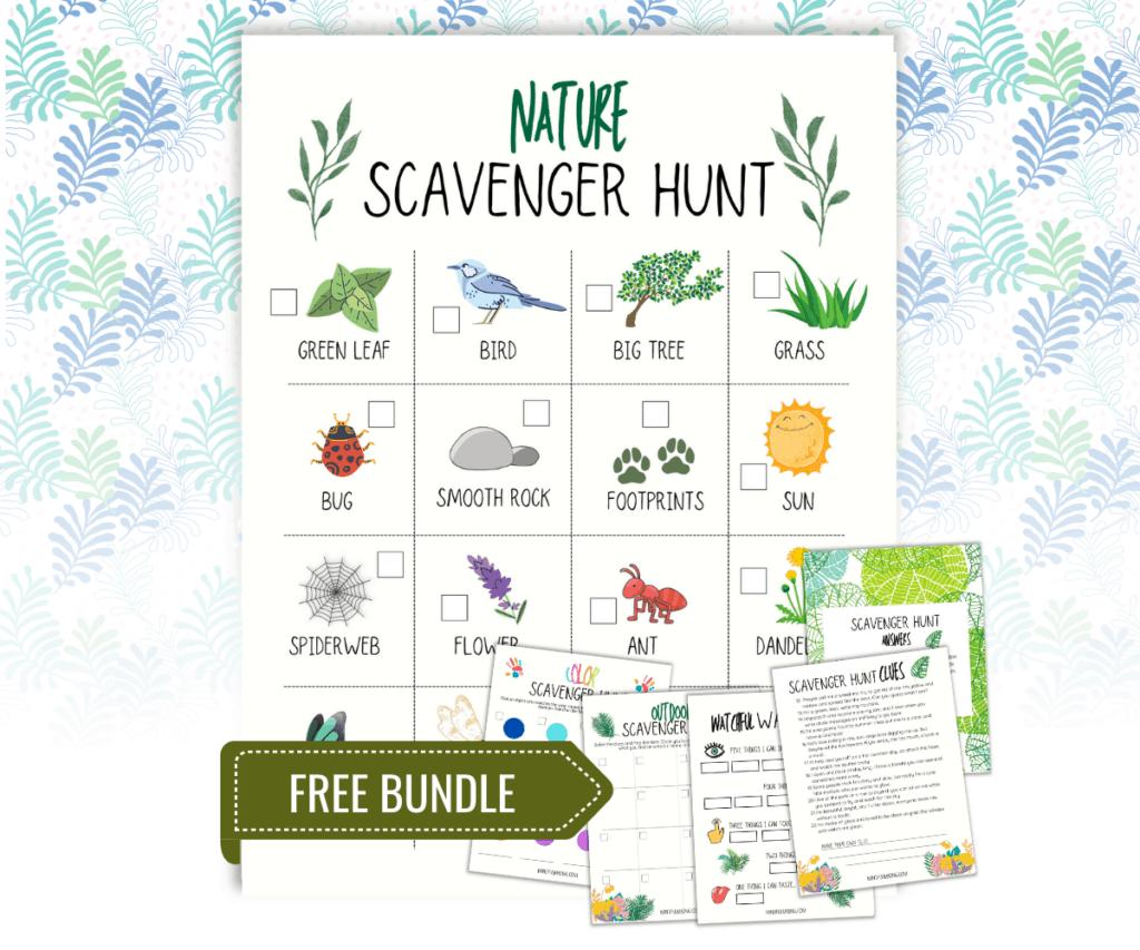 Scavenger Hunt bundle for kids