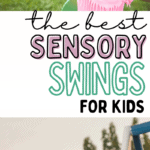 the best sensory swings for kids