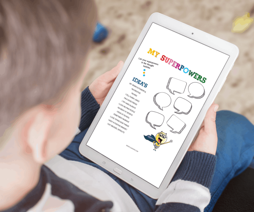 All about me printables for kids