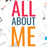 All about me worksheets for kids