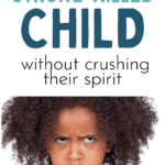 discipline strong willed child