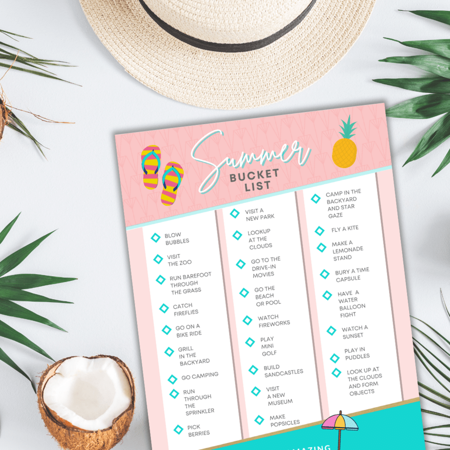 Summer Bucket List for Kids: 75+ Awesome Ideas