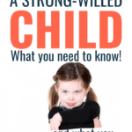 parenting a strong-willed child