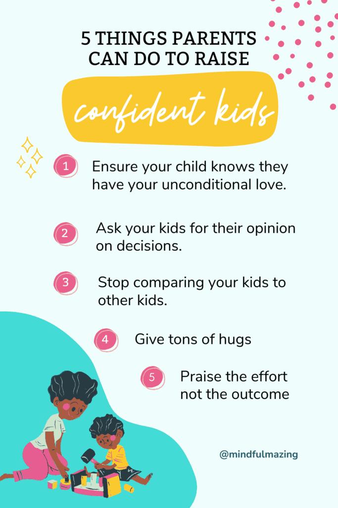 raising confident kids