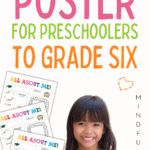 all about me poster preschool