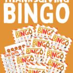 Thanksgiving Bingo cards free